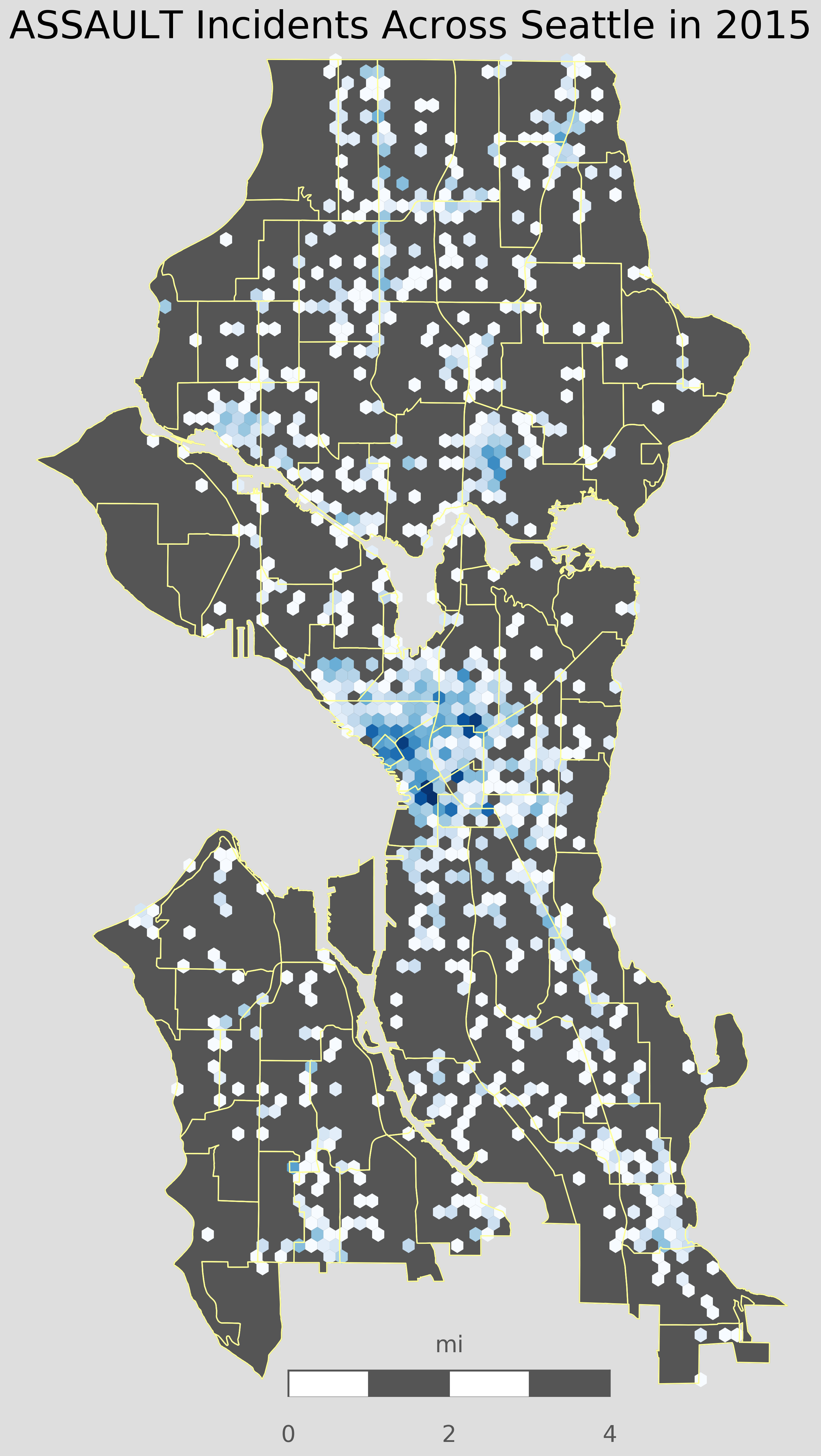 Crime Mapping Seattle